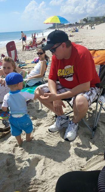McCloud beach time